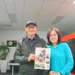 3CW中文广播电台双语釆访世界华文大众传播媒体协会副主席滕飞