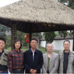 协会秘书长勾芍人博士访问河北道观--三义宫