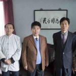 《健康时报》社长彭跃拜访基金会主席高若城