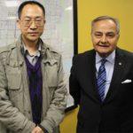 协会秘书长勾芍人博士拜访加拿大族裔媒体协会