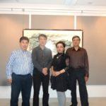 协会副主席董黎明、基金会副主席李来胜访问五星国艺拍卖及评估公司