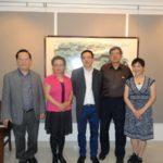 基金会副主席张鹤腾访问五星国艺拍卖及评估公司