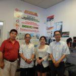 《加华国际商报》社长罗素赴多伦多访问协会主席庞志廉