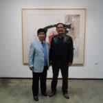 基金会副主席李来胜访问北京798艺术区