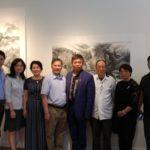 协会主席庞志廉参加《罗建生水墨作品》发布会