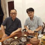 协会副主席刘江在杭会见法国《华人街报》社长吴长虹先生