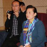 北欧国际新闻中心副总裁刘继明在北京采访9国驻华大使