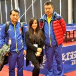 世界华文媒体记者采访报道2017女子乒乓球世界杯比赛