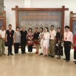 世界华文媒体总编访问海南省黎锦艺术博物馆