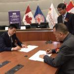 农林卫视与加中企业资本联盟在加拿大签约