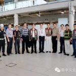 江门市副市长易中强、广东南车董事长黄贵生率团访问泰中文化产业集团