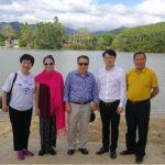 国际中文记者联合会主席吴治欧访问海南