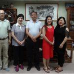 《健康生活报道》执行总编马丽霞拜访基金会主席张士兴