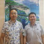 香港中国记录通讯社社长陈学刚拜会协会秘书长勾芍人博士